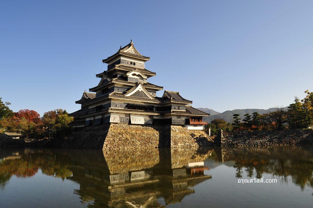 เที่ยวญี่ปุ่นที่ปราสาทมัตสึโมโตะ