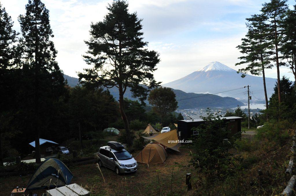 เที่ยวญี่ปุ่นนอนแคมป์กางเต้น Retreat Camp