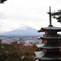 เจดีย์แดงชูเรโตะ Chureito Pagoda