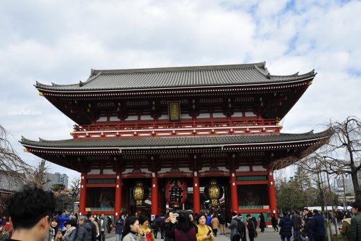 วัดเซ็นโซจิ Sensoji ประเทศญี่ปุ่น