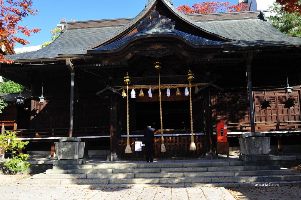 ศาลเจ้าโยฮะชิระ Yohashira Shrine