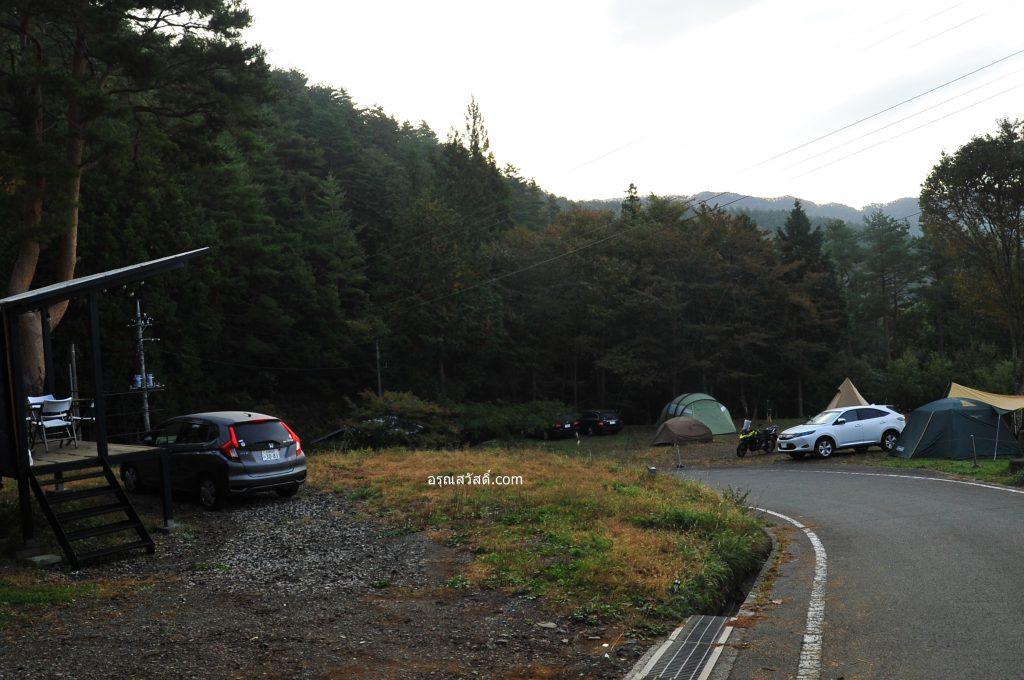 เที่ยวญี่ปุ่นนอนแคมป์กางเต้น Retreat Camp Mahoroba