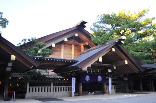 ศาลเจ้าอะสึตะ Atsuta Jingu